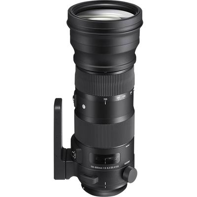 Sigma 150-600mm f/5-6.3 DG OS HSM Sport Telephoto Zoom Lens for Canon - Black - 740101