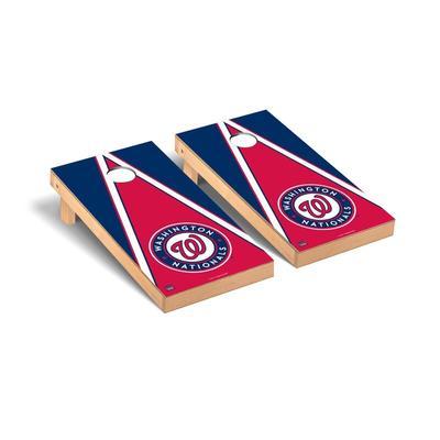 """Washington Nationals 2' x 4' Triangle Cornhole Board Set"""