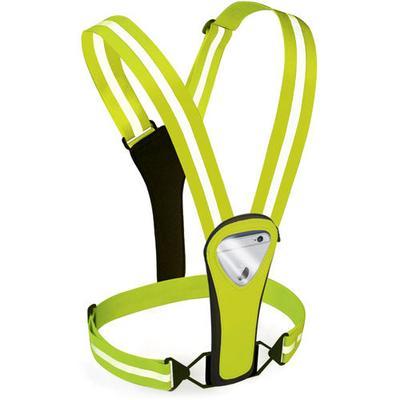 Amphipod Xinglet Pocket Plus Reflective, Night Safety Hi-Viz/Silver