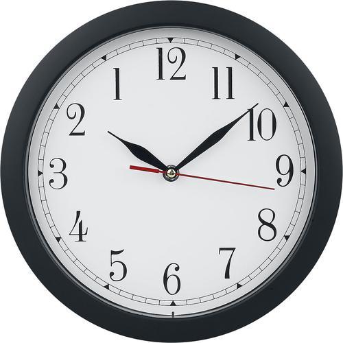 Rückwärtslaufende Uhr Wanduhr - multicolor