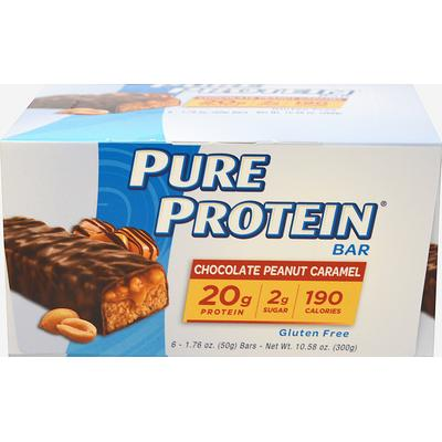 Pure Protein Pure Protein Chocolate Peanut Caramel-6 Bars