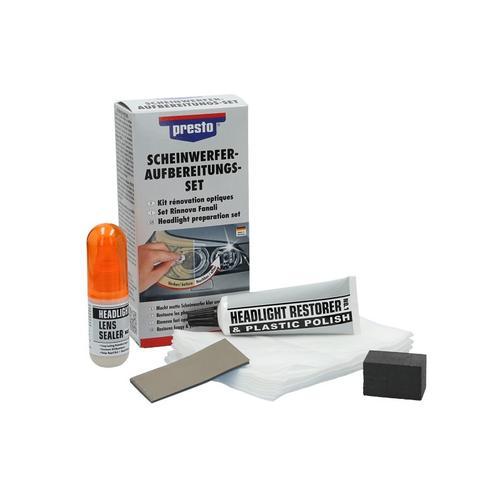 Scheinwerfer Aufbereitungs-Set | Presto