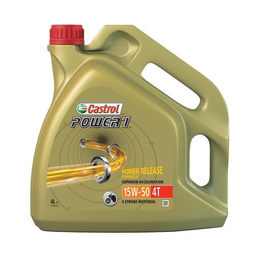 4-?Takt Motoröl '15W-50 POWER 1 4T (4 L)' | Castrol, Inhalt: 4 Liter