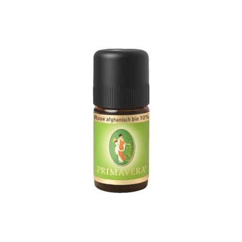 Primavera Aroma Therapie Ätherische Öle Rose Afghanisch Bio 10% 5 ml