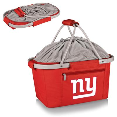 Red New York Giants Metro Basket Collapsible Tote