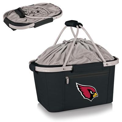 Black Arizona Cardinals Metro Basket Collapsible Tote