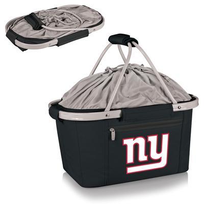 New York Giants Black Metro Basket Collapsible Tote