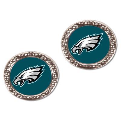 Women's Philadelphia Eagles WinCraft Round Post Earrings