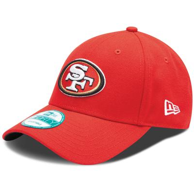 Youth San Francisco 49ers New Era Scarlet League 9FORTY Adjustable Hat