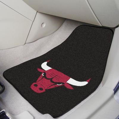 """Chicago Bulls 2-Piece Carpet Car Mat Set"""