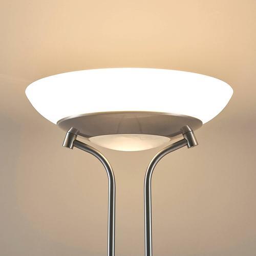 LED-Deckenfluter Yveta mit Leselampe