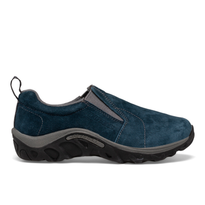 Merrell Kid's Jungle Moc, Size: 1.5, Ink Suede