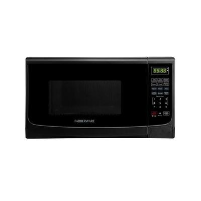 Farberware Classic 0.7 cu. ft. 700-Watt Countertop Microwave Oven in Black