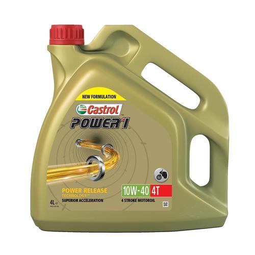 4-?Takt Motoröl '10W-40 POWER 1 4T (4 L)' | Castrol, Inhalt: 4 Liter, Viskositätsklasse SAE: 10W-40
