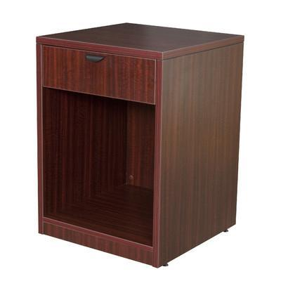 Regency Furniture Legacy Machine Table with Drawer, Mahogany