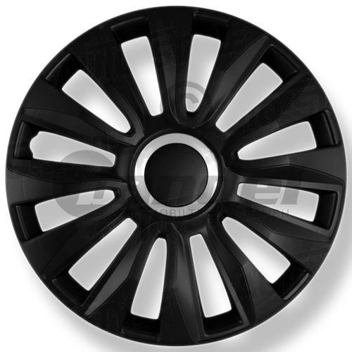 Radblenden-satz Spyder 13'' Zoll Mattschwarz 4 X Radkappen Radzierblenden 4er Set