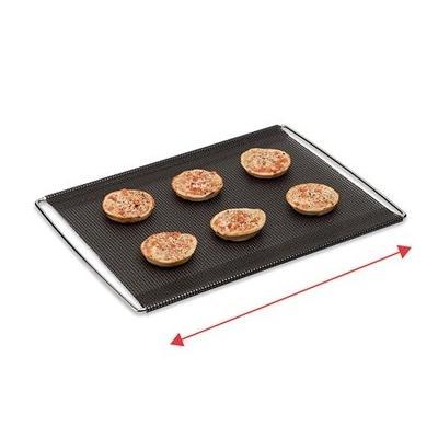 Grille de cuisson extensible avec feuille perforée anti-adhérente 41 à 49 cm NoStik