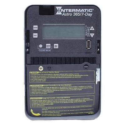 INTERMATIC ET2815C Electronic Timer,Astro 7/365 Days,20A