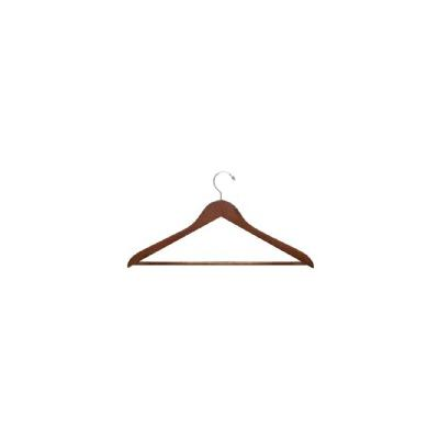 24-Pack Wood Hangers - Cherry (Red)