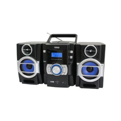 NPB-429 Mini Hi-Fi System - 16 W RMS - iPod Supported - Black