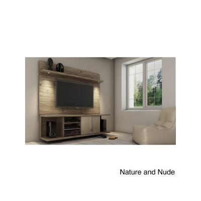 14555 Nature/Nude 5-Shelf Carnegie TV Stand