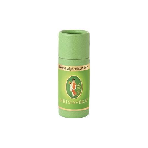 Primavera Aroma Therapie Ätherische Öle bio Rose Afghanisch bio unverdünnt 1 ml