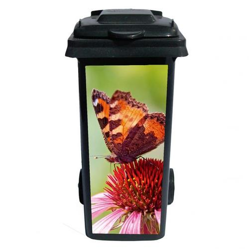 Mülltonnen-Aufkleber Schmetterling