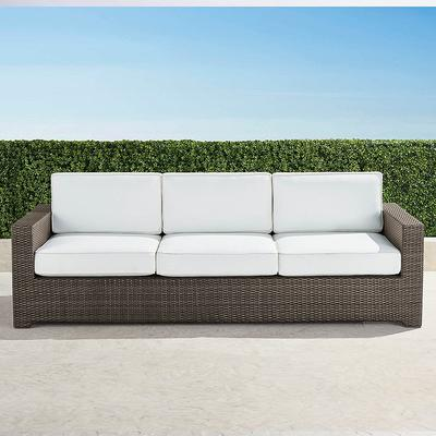 Palermo Sofa with Cushions in Br...