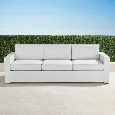 Palermo Sofa with Cushions in Wh...