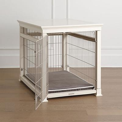 Luxury White Pet Residence Dog Crate - Large (Up to 80 lbs.) - Frontgate