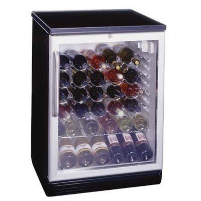 Summit SWC6GBL Wine Cellar - Black