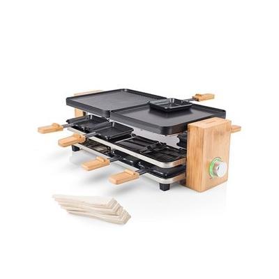 Appareil à raclette en bambou po...