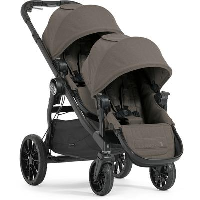 Baby Jogger City Select LUX Double Stroller - Taupe