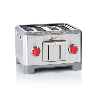 Wolf Gourmet Four-slice Toaster - Stainless Steel - Frontgate
