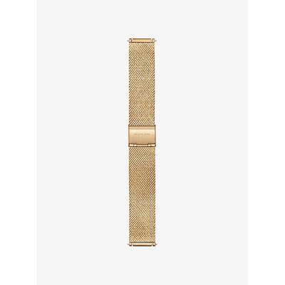 Michael Kors Gen 3 Sofie Gold-Tone Smartwatch Strap Gold One Size