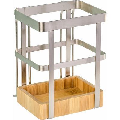 WENKO Besteckhalter Premium, mit Vacuum-Loc Befestigungssystem beige Küchen-Ordnungshelfer Küchenhelfer Küche