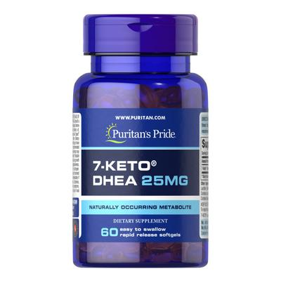 Puritan's Pride 7-Keto DHEA 25 mg-60 Softgels