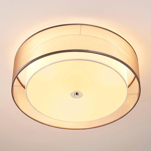 Per Schalter dimmbare LED-Deckenlampe Tobia, grau