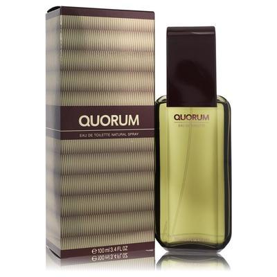 Quorum For Men By Antonio Puig Eau De Toilette Spray 3.4 Oz