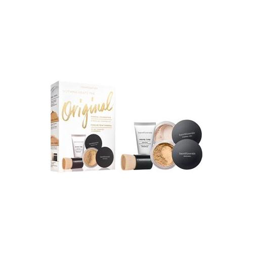 bareMinerals Gesichts-Make-up Foundation Light Original Get Started Kit Original SPF 15 Foundation Light 2 g + Original Foundation Primer 15 ml + Mineral Veil Original 3 g + Mini Beautiful Finish Brush 1 Stk.