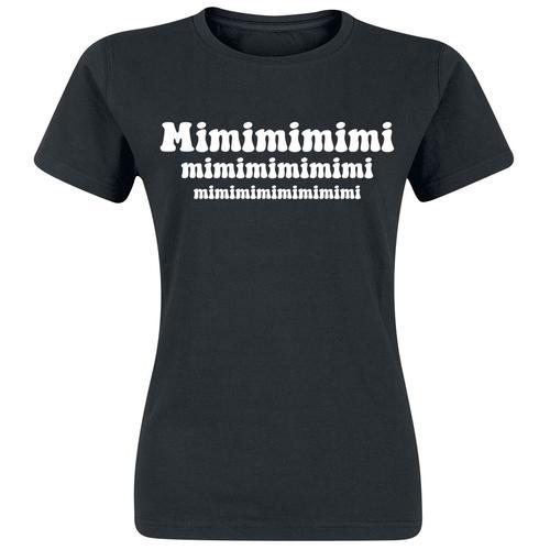 Mimimimimi Damen-T-Shirt - schwarz