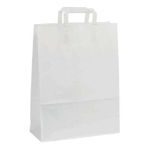 Papier-Tragetaschen »Topcraft« 8 L - weiß weiß, OTTO Office