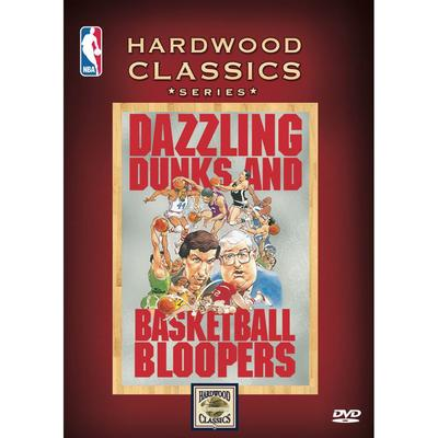 """NBA Hardwood Classics: Dazzling Dunks & Basketball Bloopers DVD"""