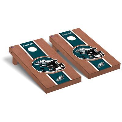Philadelphia Eagles 2' x 4' Rosewood Cornhole Board Set