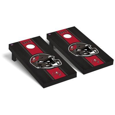 Tampa Bay Buccaneers 2' x 4' Onyx Cornhole Board Set