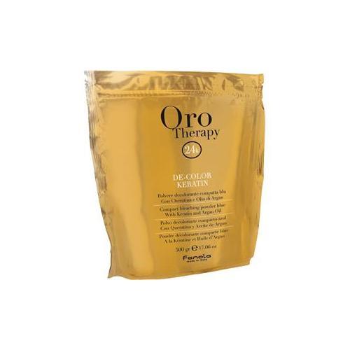 Fanola Haarpflege Oro Puro Therapy Oro Therapy De-Color Keratin Blondierpulver 75 g