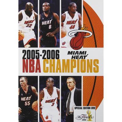 Miami Heat 2006 NBA Champions DVD