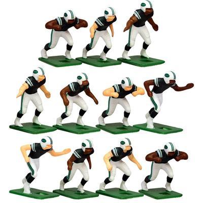 New York Jets Dark Uniform Action Figures Set
