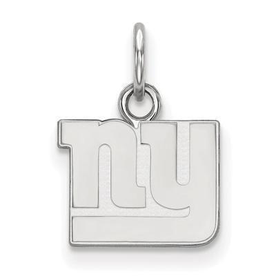 New York Giants Women's Sterling Silver XS Charm