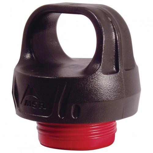 MSR - Child Resistant Fuel Bottle Cap - Ersatzverschluss - Verschlusskappe schwarz/rot